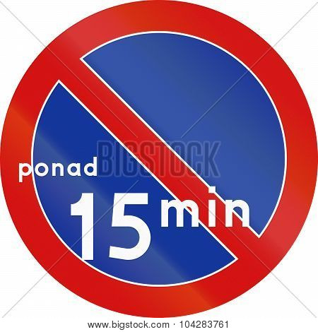 No Parking Over 15 Minutes In Poland