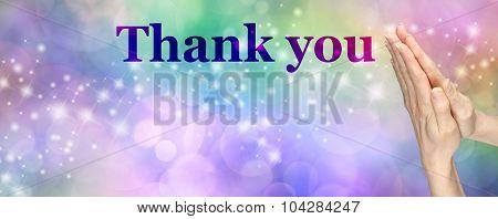 Giving Thanks Banner
