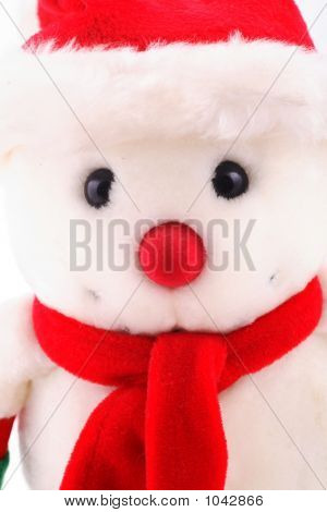 Snowman In Close Up
