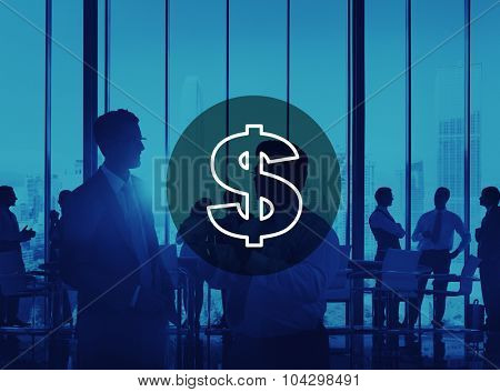 Business FInancial Money Dollar Currency Concept