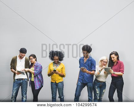 Talking Brainstorming Communication Friends Concept