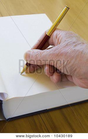 Buch signieren
