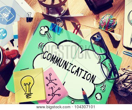 Communication Connection Business Network Concept