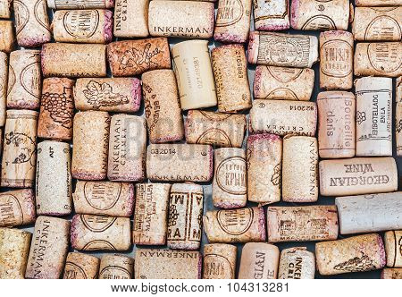 Wine Corks Famous Wine Producers Massandra, Chateau, Inkerman, Etc