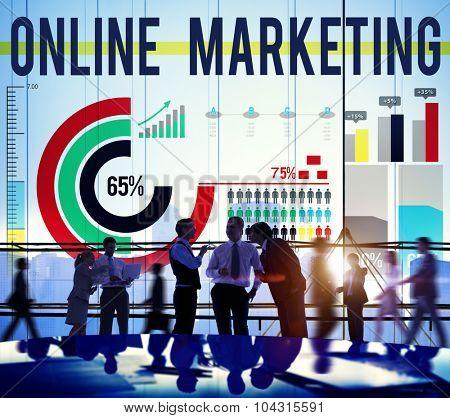 Online Marketing Commercial Branding Advertisement Concept