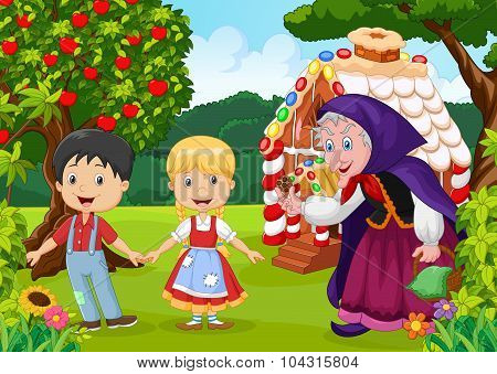 Classic children story Hansel and Gretel