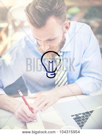 Ideas Creativity Inspiration Imagination Thinking Concept
