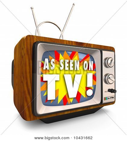 As Seen On Tv - Fashioned Old Fernsehen