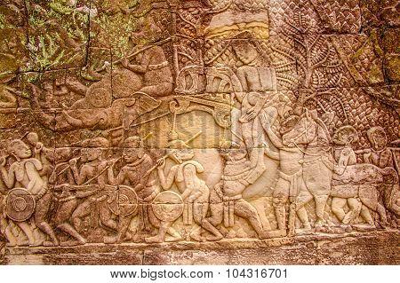 Cambodian Temple Scenes 11