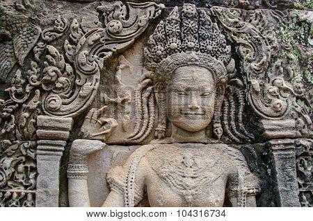Cambodian Temple Scenes 17