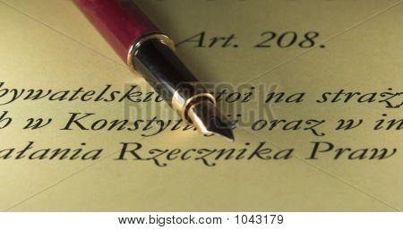 Pen & Text
