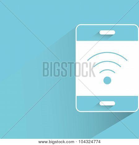 smart phone wifi symbol