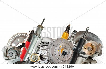 Border Of Car Parts