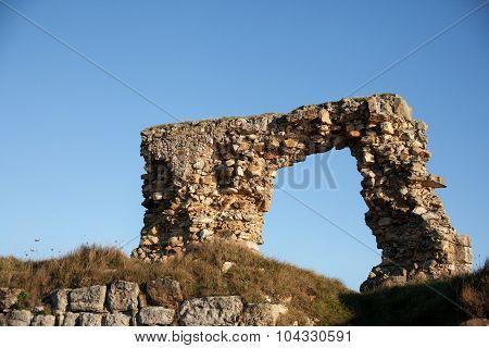 Remaining Arch Of Newark Castle, St Monans, Scotland