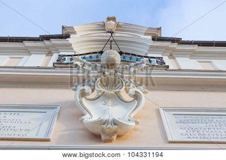 Papal Building Detail