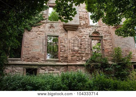 Seacliff House Hidden In The Woods Where Nature Is Slowly Reclaiming. ..building Built In 1841 And E