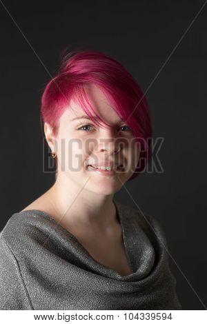 Girl With Crimson Hair