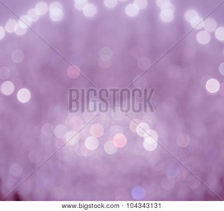 Blur Lights Festive Background