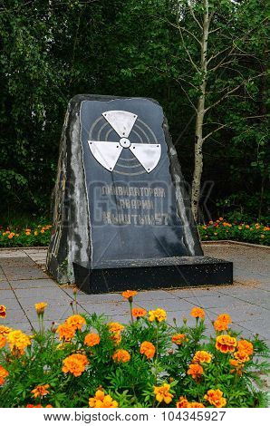 Monument To Participants Of Liquidation Of Consequences Of Radiation Accident Kyshtym-57