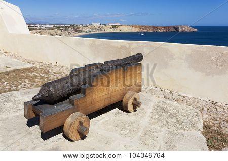 Fortaleza De Sagres, Cabo De Sao Vicente, Algarve, Portugal