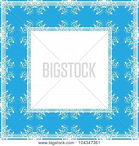 blue gentle border