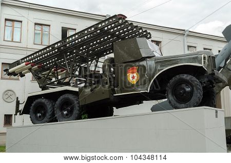 Exhibition Of Military Equipment
