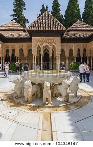 Alhambra Tourists
