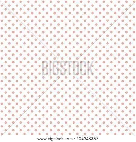 Seamless Background Red Dots