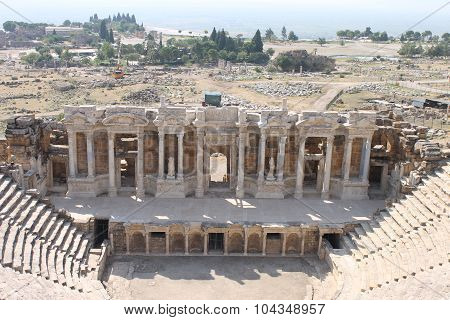 Hierapolis ruins of the ancient city Pamukkale
