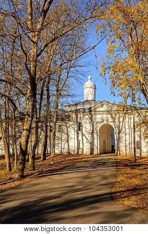 Church of the Presentation with the refectory Saint Anthony Monastery Veliky Novgorod