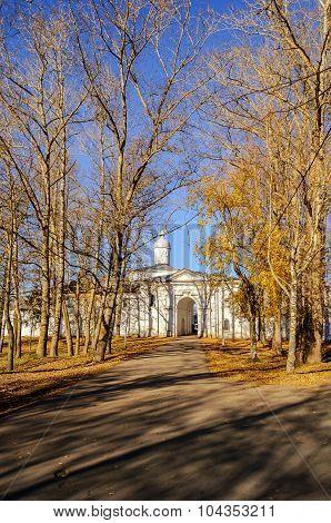 Church of the Presentation with the refectory Saint Anthony Monastery Veliky Novgorod