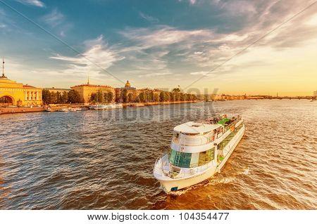 Twilight At The Neva River