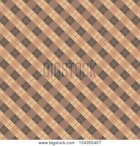 Plaid Tiles Seamless Pattern Background