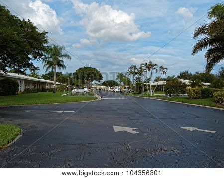 Residential Housing Complex in South Florida Suburbs