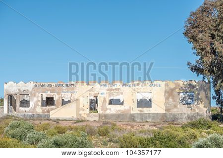 Ruin Of A Butchery And Shop