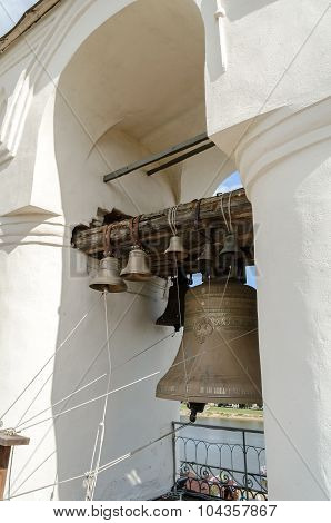Bells In The Span Of The Belfry Of St. Sophia Cathedral
