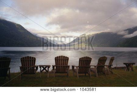 Lake Crescent 6 Cairs