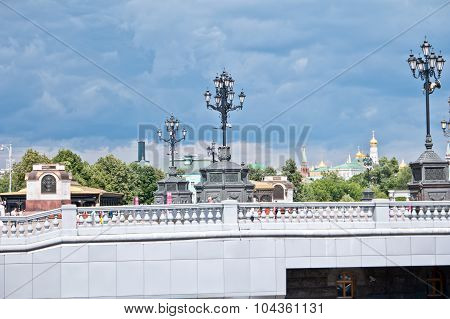 The Square In Front Of The Cathedral Of Christ The Savior