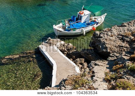 Boat In Greece