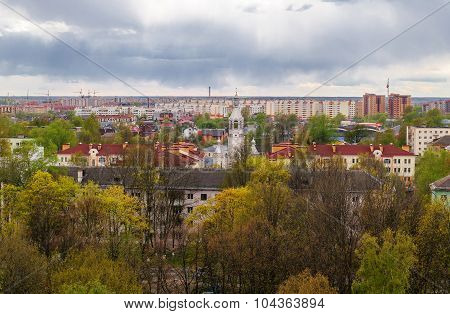 View Of Veliky Novgorod From A Height