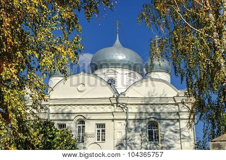 Cathedral Of The Intercession In Zverin Monastery