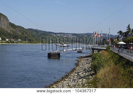 Remagen - Promenade Beneath The River Rhine