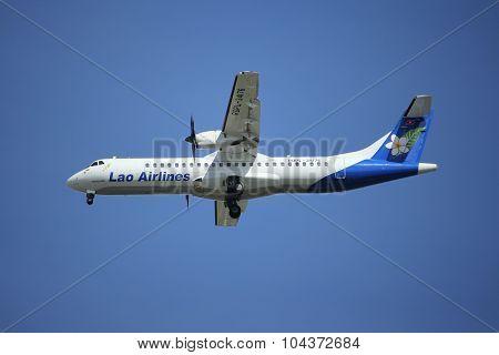RDPL-34176 ATR72-500 of Lao Airline.