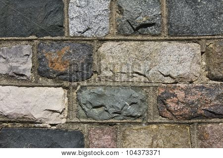 Textured Color Brick Background - Abstract for Wallpaper or Background