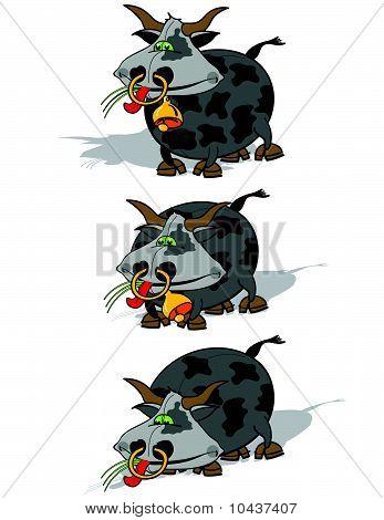 cows cartoon