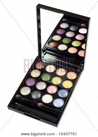 Colored Eye Shadows Set