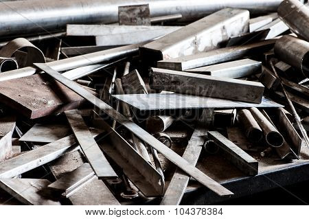 Offcuts And Spare Parts Of Raw Steel