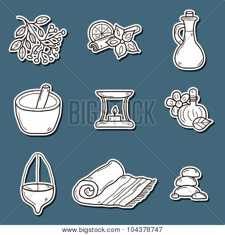 Ayurvedic stickers