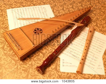 Bowed Psaltery - Recorders