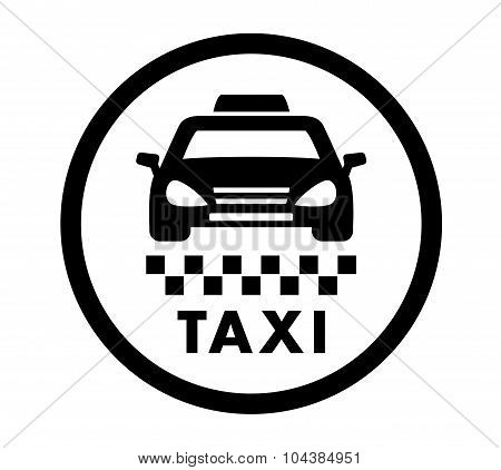 Taxi Cab Services Icon